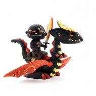 Arty Toys - Guerrier et Dragon Drago et Volcano