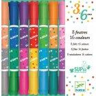 8 Feutres 16 couleurs - lavables