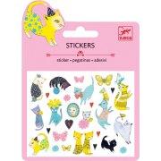 Stickers Chats Glitter