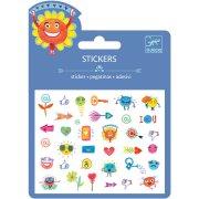 34 Stickers Symboles Relief 2D