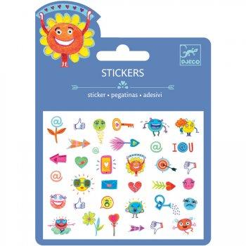 Mini stickers  Symboles Relief 2D