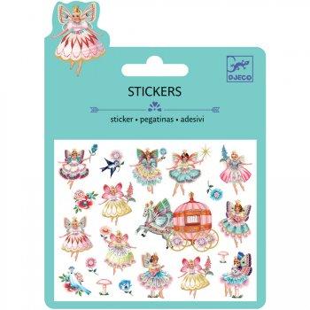 Mini stickers Fées et Oiseaux Relief 2D