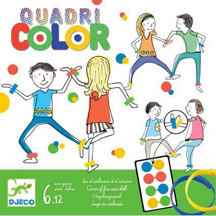Jeux d ambiance Quadricolor