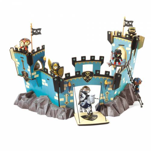 Arty Toys - Château Pirate Castel on the Rock (63 cm)