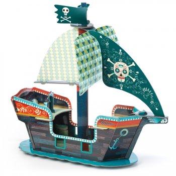 Pop to Play - Bateau Pirate 3D (47 cm)