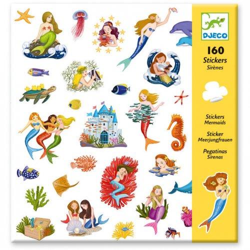 160 Stickers Sirènes