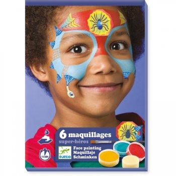 Maquillage et Stickers de Peau - Super Héros