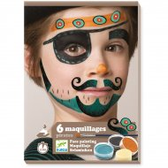 Maquillage et Stickers de Peau - Pirate