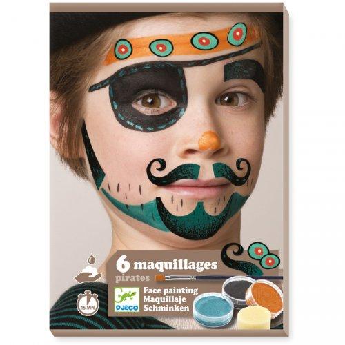 Maquillage et Stickers de Peau - Pirate