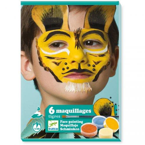 Maquillage et Stickers de Peau - Tigres et Fauves