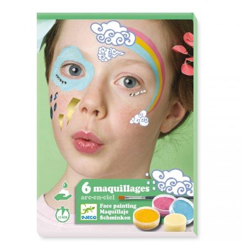 Maquillage et Stickers de Peau - Arc en Ciel