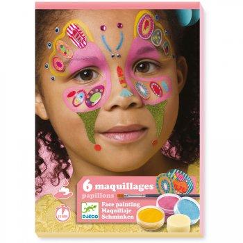 Maquillage et Stickers de Peau - Papillon