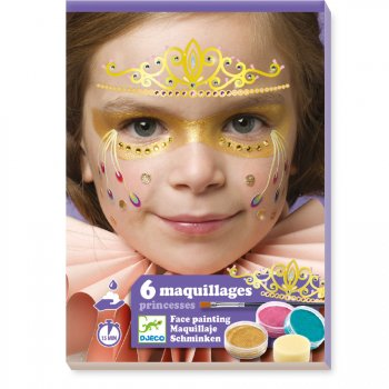 Maquillage et Stickers de Peau - Princesse
