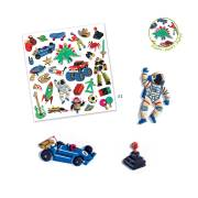Stickers Rétro Toys