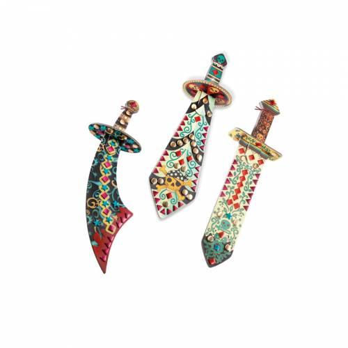 3 Sabres DIY Mosaïques