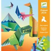 Kit Origami Dinosaures