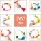 Kit de Bijoux à Créer - Perles et Cubes images:#3