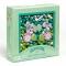 450 Perles en Bois - Feuilles et Fleurs images:#1