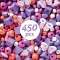 450 Perles en Bois - Papillons images:#3