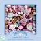 450 Perles en Bois - Arc-en-Ciel Pastel images:#0