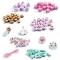 450 Perles en Bois - Arc-en-Ciel Pastel images:#2