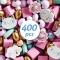450 Perles en Bois - Arc-en-Ciel Pastel images:#3
