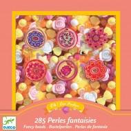 450 Perles en plastique - Fleurs
