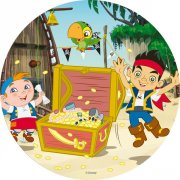 Disque en sucre Jake le Pirate