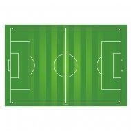 Plaque de terrain de foot en azyme