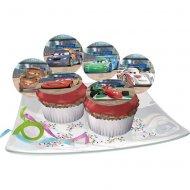 12 Pastilles en sucre Cars