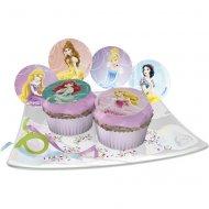 12 Pastilles en sucre Princesses disney