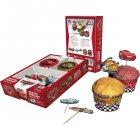 Kit 24 Caissettes et Déco à Cupcakes Cars