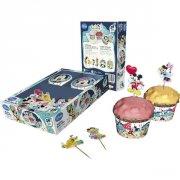 Kit 24 Caissettes et Déco Cupcakes Mickey et Minnie