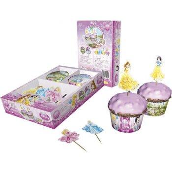 Kit 24 Caissettes et Déco à Cupcakes Princesses Disney