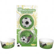 50 Caissettes à Cupcakes Football