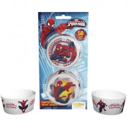 50 Caissettes � Cupcakes Ultimate Spider-man