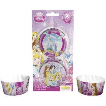 50 Caissettes à Cupcakes Princesses Disney