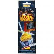 12 D�cor Sabre Laser Star Wars pour Cupcakes