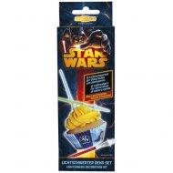 12 Décor Sabre Laser Star Wars pour Cupcakes