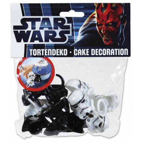 12 Bagues Déco et Cadeau Star Wars