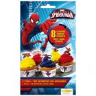 8 Stickers en sucre Spiderman