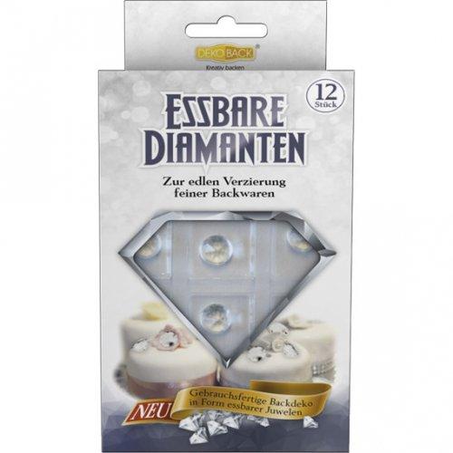12 Décors Diamant en sucre