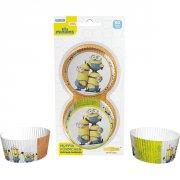 50 Caissettes à Cupcakes Minions