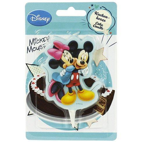 Bougie Silhouette Mickey-Minnie