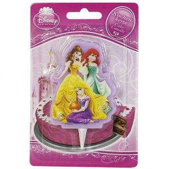 Bougie Silhouette Princesse Disney