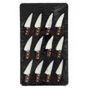 12 Décors Couteaux (5 cm) - Sucre