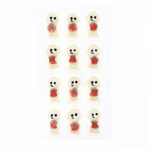 12 Décors Momie (3,5 cm) - Sucre