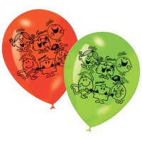 Contient : 1 x 6 Ballons Monsieur Madame