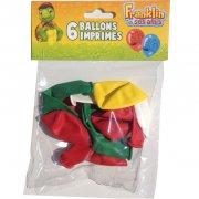 6 Ballons Franklin et ses amis