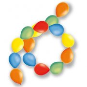 Guirlande de 10 ballons